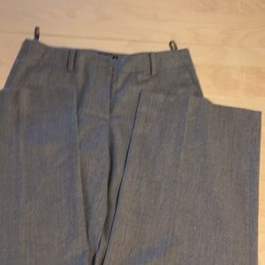 DKNY Gray wide leg trousers size 8, never used!